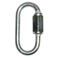 Screw lock link, diam. 6 mm