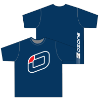 T-SHIRT NAVY BLUE OZONE LOGO