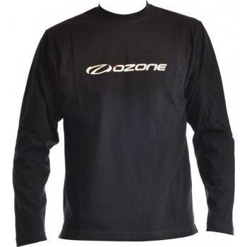 LONG SLEEVE T-SHIRT BLACK OZONE LOGO
