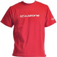 T-SHIRT RED OZONE LOGO (CLASSIC)