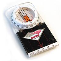 Precision flat compass