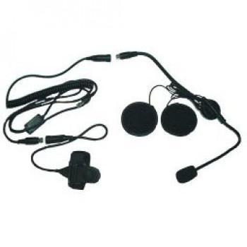 Headset (open helm) voor de Wouxun KG-UVD1 en MIDLAND CT 790