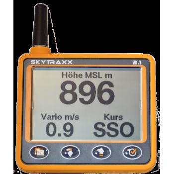 Skytraxx 2.1 met Fanet en Flarm