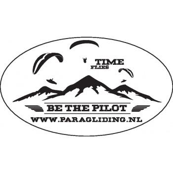 Time Flies auto sticker