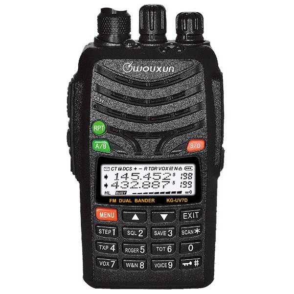 Wouxun KG-UV7D dual band radio